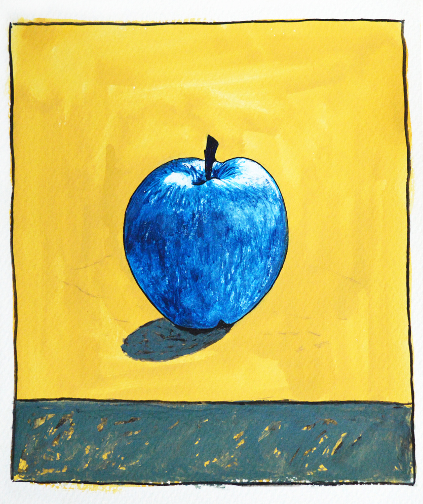 blue apple photo small